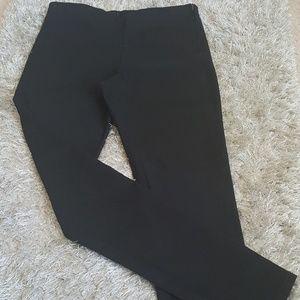 H&M DIVIDED Black Twill Pants